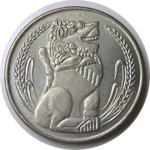 elf Singapore 1 Dollar 1982  Lion