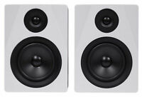 "Pair Rockville APM5W 5.25"" Gaming Twitch Streaming Computer Speakers Monitors"
