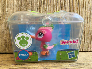 LPS Littlest Pet Shop #2340 Sparkle Woodpecker Shimmer 'n Shine Pets NEW in BOX