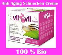 50 ml 100% BIO Schnecken Creme  Schneckenschleim Anti Aging Hauterneuerung Cream