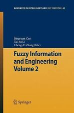 Advances in Intelligent and Soft Computing Ser.: Fuzzy Information and...
