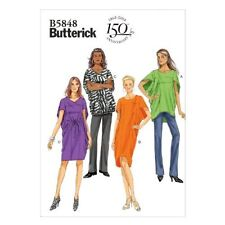 Butterick Patterns B5848 Misses Top, Dress and Belt Easy Sewing Template, Size Y