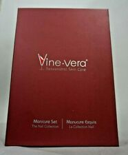 New Vine Vera Resveratrol Skin Care Manicure Set The Nail Collection Msrp $59.99