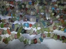 4-6MM Natural & Synthetic Gemstone Light Mixed Chips Spacer Loose Beads 280PC.