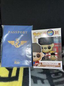 Funko Pop! Around the World Barkingham (UK) Vinyl Figurine With Passport 01