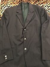 Gianni Versace  Sport Jacket 56r/46r  Dark Grey/Brown Made in Italy
