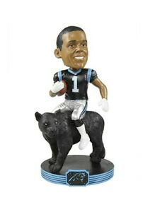 Limited Edition Cam Newton of Carolina Panthers Riding Bobblehead #37 of 2000