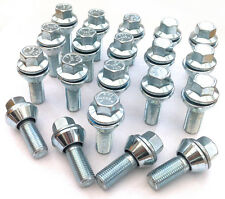 20 x Variable PCD M12x1.25 bolts 4x98 4x100 5x98 5x100 5x106 5x108 5x110 5x112