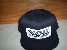 Vintage WHITE Farm Equipment Baseball Cap Truckers Hat (ORIGINAL)