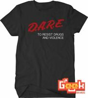 Vintage DARE T-Shirt - SML - 3X