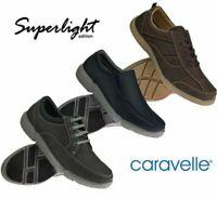 Mens Caravelle Comfort Foam Shoes Smart Casual Lace Up Trainers Shoes Size