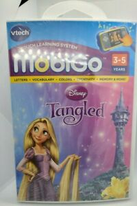 """Vtech Touch Learning System - MobiGo - Disney """"Tangled"""" Ages 3-5 Years"""