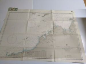 Antique Vintage US Navy Nautical Chart Aeronautical Map  NW Australia Dampier Is