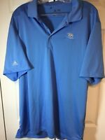 Adidas ClimaLite Polo Golf Shirt Blue Size XL NEW w/o tags