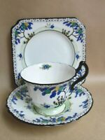 ROYAL DOULTON ART DECO H1790 TEA TRIO C1925 (Ref4901)