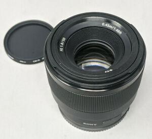 Sony Full-frame E-mount Fast Prime Lens SEL50F18F - Plus Filter