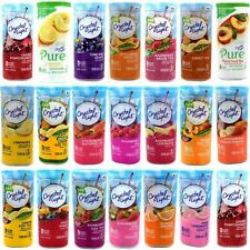 Crystal Light 10-Quart or 12-Quart Canister Many Flavors Pack of 4, No MIX