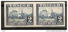 Spain Tangier Tanger (Morocco) Scott # LC5 edifil # 170 ** MNH Imperfored pair