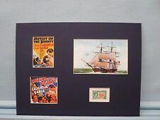 Mutiny on the Bounty & Pitcairn Island's Bounty Stamp