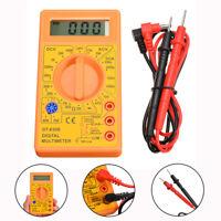 LCD Digital Multimeter Strom Messgeräte Ohmmeter AC/DC Voltmeter Volt Tester