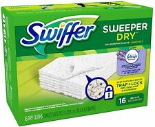 Swiffer Sweeper Dry Cloth Refill 16 ea (Pack of 4)