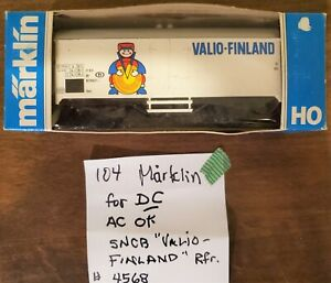 Märklin Marklin 4568 Ibes SNCB Valio Finland DC wheels (twt 104)