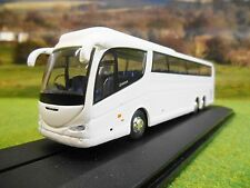 OXFORD SCANIA IRIZAR PB COACH PLAIN WHITE 1/76 76IRZ005