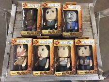 Walking Dead Wind-Up Figurines.  Full Set Of All 7 Sealed In Box.