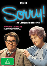 SORRY! THE COMPLETE FIRST SERIES (DVD), R-4,VERY GOOD, FREE POST IN AUSTRALIA