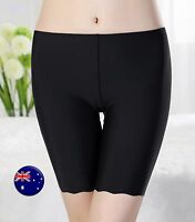Women Lady Summer Silky feel undie Shorts Safety Underwear Short Pants Pantie