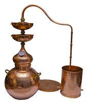 Destille Kupfer  mit Sieb mit 2  Linse 30L Distiller