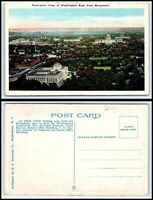 WASHINGTON DC Postcard - View From Washington Monument (East) Q42