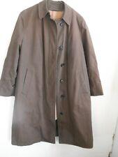Ladies Vintage Quality LONDON FOG Winter Wear Rain Trench Coat Fur Lining NICE 8