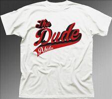 The Dude Big Lebowski white printed t-shirt 9637