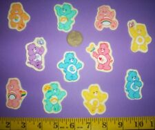 New! Cool!! Care Bears IRON-ONS FABRIC APPLIQUES IRON-ONS