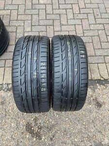 225 40 R 18 92Y 88Y Bridgestoen Potenza S001 * RSC Run Flat RFT 2x Tyres 2254018