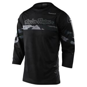 Troy Lee Designs Men's Adult Ruckus 3/4 Jersey Factory Camo MTB/BMX/Bike 3186830