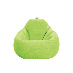 Slouch Sofa Cover. - Candy Green
