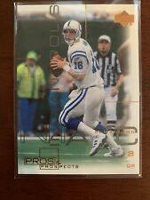 New listing 2000 Upper Deck Pros and Prospects Card #34 Peyton Manning MINT COLTS FREESHIP
