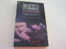 BEAUTY'S PUNISHMENT  1988  A.N. ROQUELAURE   SENSUOUS STORY OF A VERY BAD GIRL