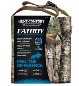 Hunt Comfort Ultra-Premium Gel Core Fatboy Cushion Realtree Xtra
