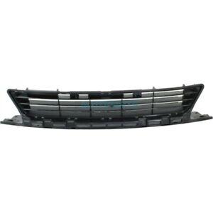 NEW FRONT CENTER BUMPER GRILLE TEXTURED BLACKFITS 09-11 HONDA CIVIC HO1036107