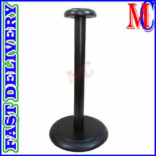 Foldable Wooden Helmet Stand Display Post for Medieval Helm or Prussian Helm f2