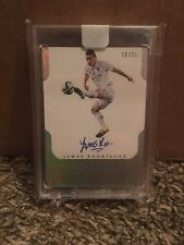 2016 Flawless James Rodriguez Pitch Perfect Auto Encased /25 Real Madrid Rare SP