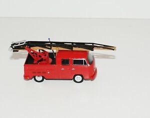 GL  1976 VOLKSWAGEN TYPE 2 LADDER / FIRE TRUCK RUBBER TIRE LIMITED EDITION