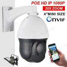 POE SONY322 20X ZOOM HD 1080P 2.0MP Outdoor IP High Speed Dome PTZ Camera IR100m