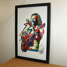 Jimmy Buffett, Singer, Vocals, Guitar, Margaritaville, Surf, 11x17 PRINT w/COA