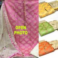 Indian/Pakistani Salwar Kameez Suit Designer Ethnic Shalwar Party Wear Dress dd