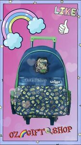 Smiggle Beast Mode Trolley Backpack - Brand New Ideal For School