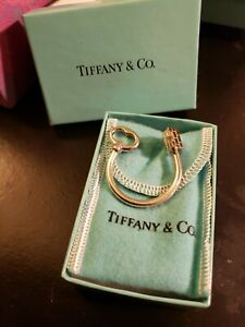 Tiffany & Co Key Ring With House End